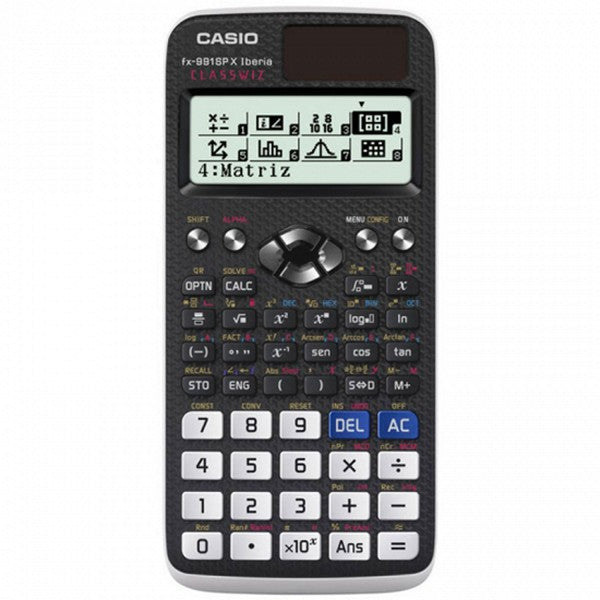 Calculator Casio 222685 LCD Black Plastic