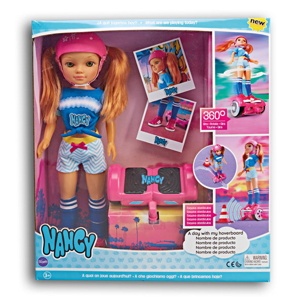 Doll Nancy A Day With My Hoverboard Famosa (43 cm)