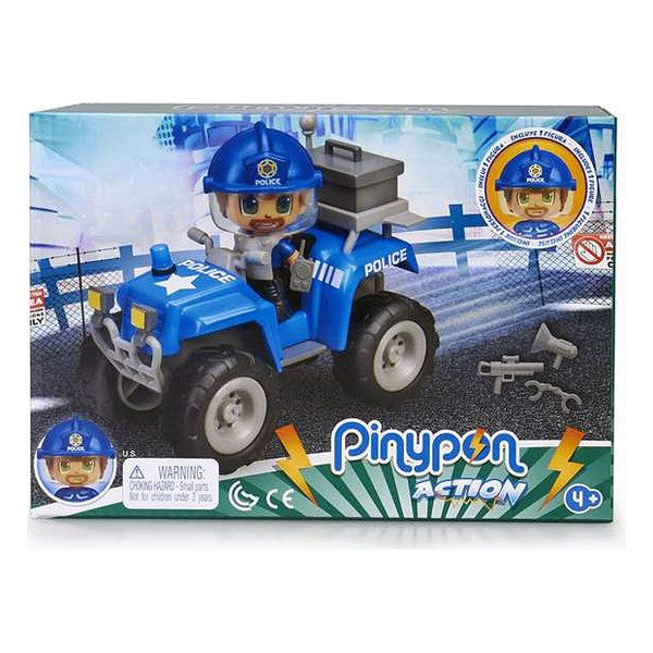 Playset Pinypon Action Police Quad Famosa