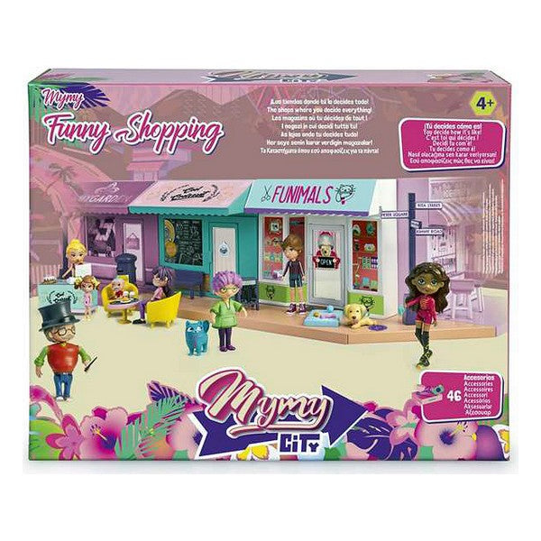 Speelset Mymy City Funny Shopping Famous