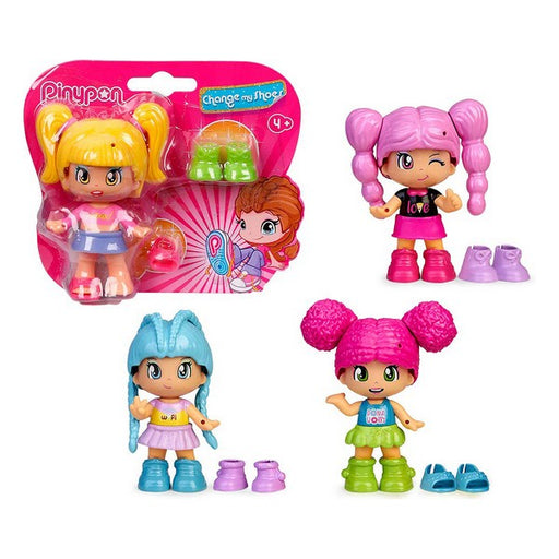 PinyPon Doll Famosa Pinypon Change My Shoes