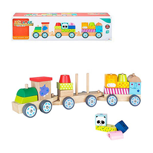 Skill Game for Babies 41 cm Train Wood (18+ months)
