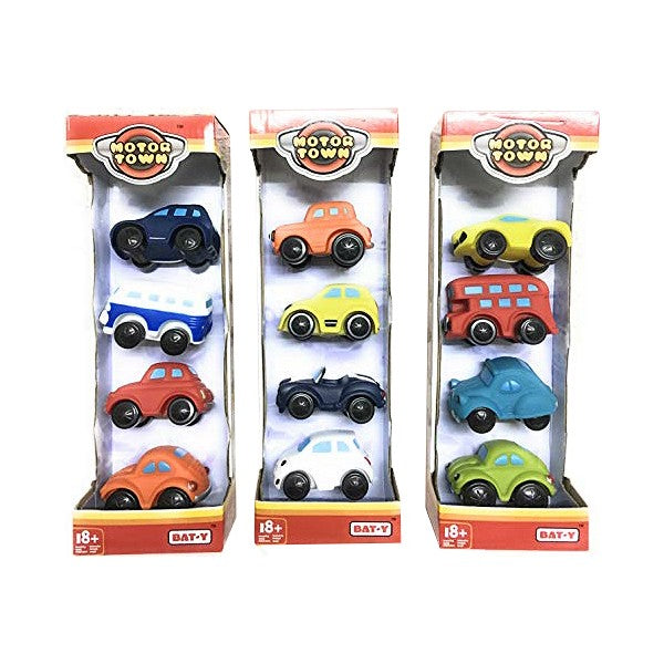 Véhicule Playset Motor Town Color Baby (4 pcs)