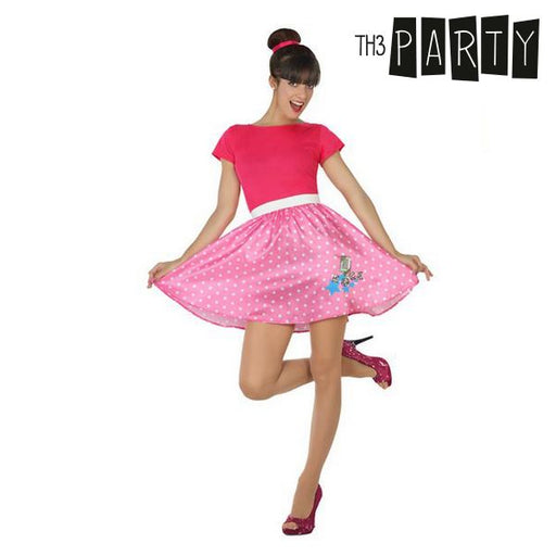 Costume pour adultes 50S Rose