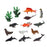 Set of Wild Animals 110159 Ocean (14 Pcs)
