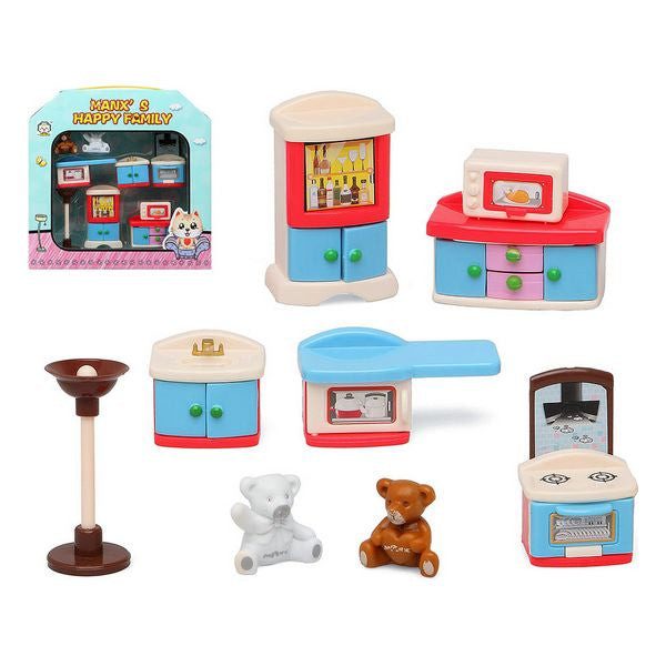 Dolls House Accessories Happy Family Kitchen