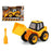 Digger Truck Assembled 119053 Yellow