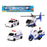 Vehicle Playset 119459 Police officer (4 Pcs)