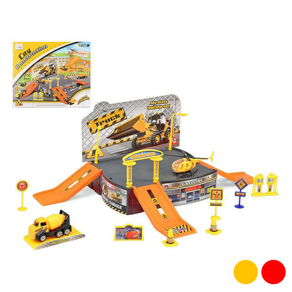 Track with Ramps City Truck 112107