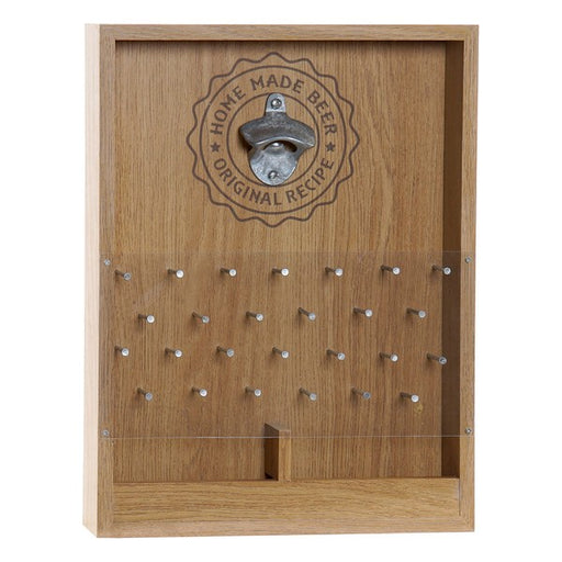 Bottle Opener Dekodonia Metal MDF Wood (30 x 5 x 40 cm)