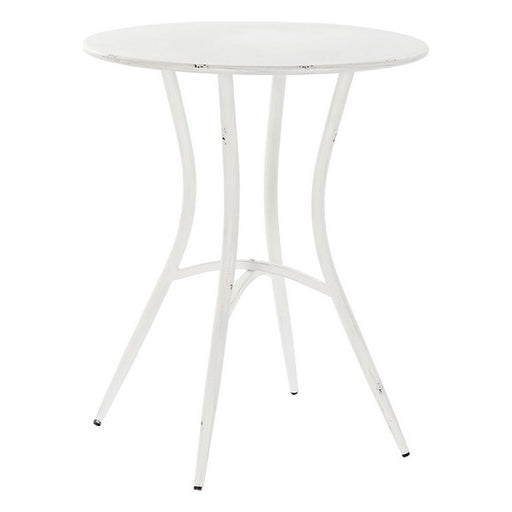 Table DKD Home Decor White Metal (60 x 60 x 72 cm)