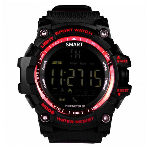 "Smartwatch BRIGMTON BWATCH-G1R 1,12"" Bluetooth IP67 Red"
