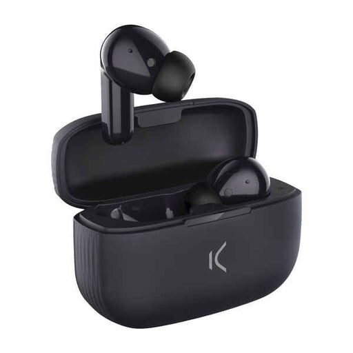 Bluetooth Headphones KSIX Black Wireless