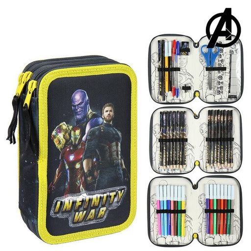 Triple Pencil Case The Avengers 78650
