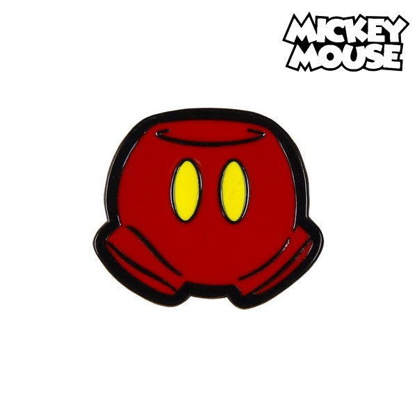 Pin Mickey Mouse Metaal Rood