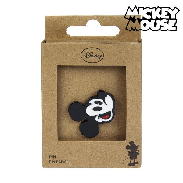 Pin Mickey Mouse Metal Black