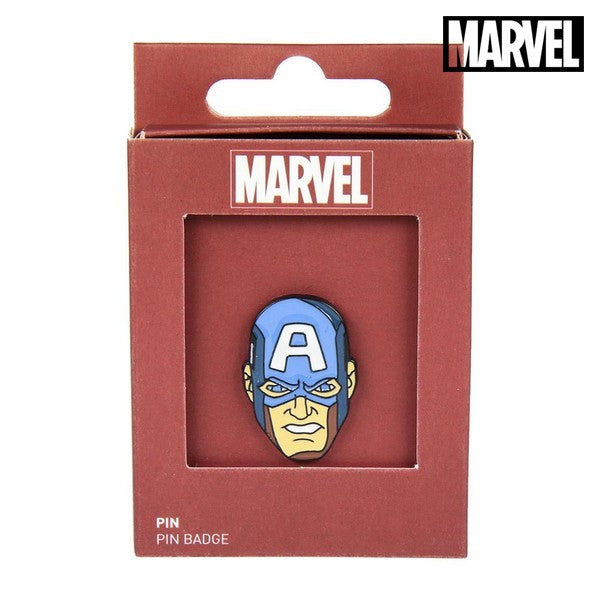 Pin Captain America The Avengers Metal Blue