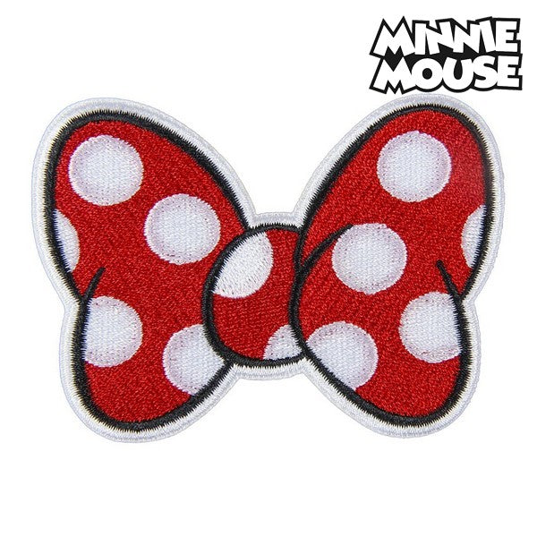 Patch Minnie Mouse Rood Polyester