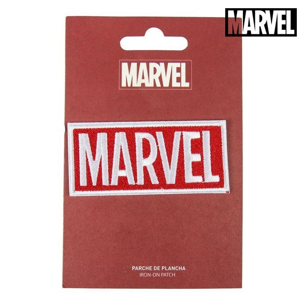 Patch Marvel Wit Rood Polyester
