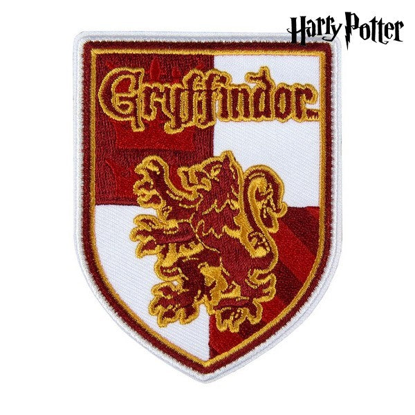 Patch Gryffindor Harry Potter Rood Wit Polyester