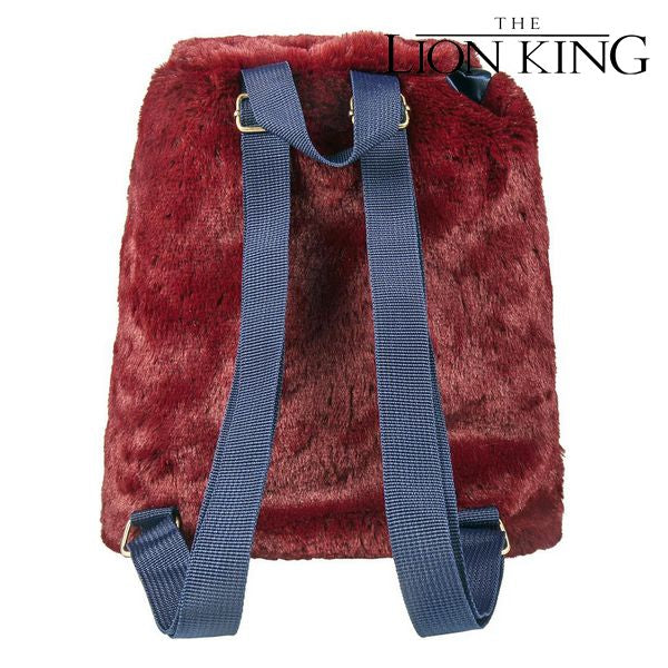 Casual Backpack The Lion King 72788 Grey Burgundy