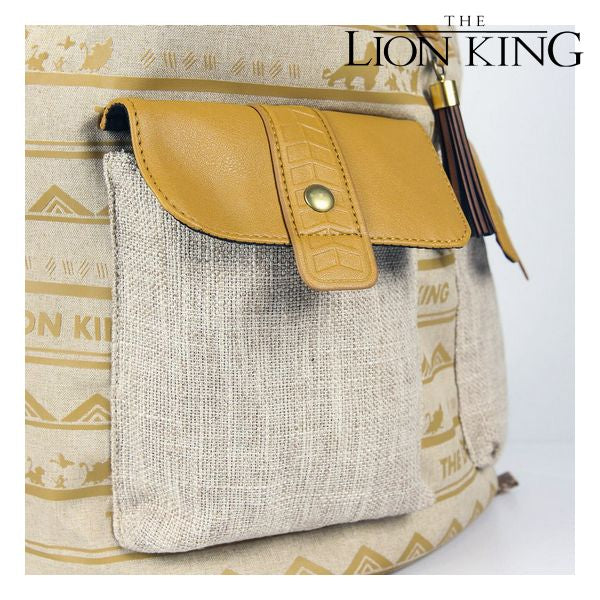 Casual rugzak The Lion King Beige