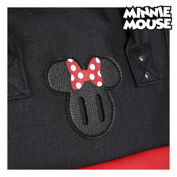 Casual Rugzak Minnie Mouse Zwart Rood