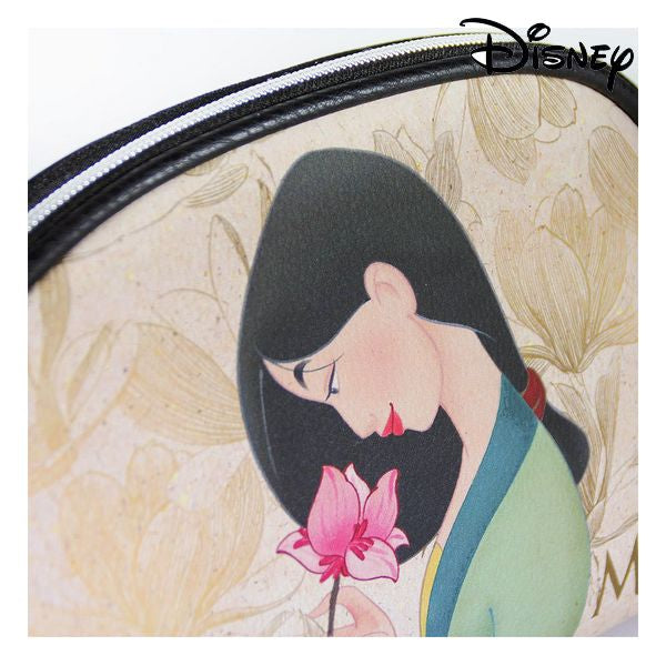 School Toilet Bag Princesses Disney Ocre