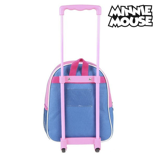 3D School Bag with Wheels Minnie Mouse