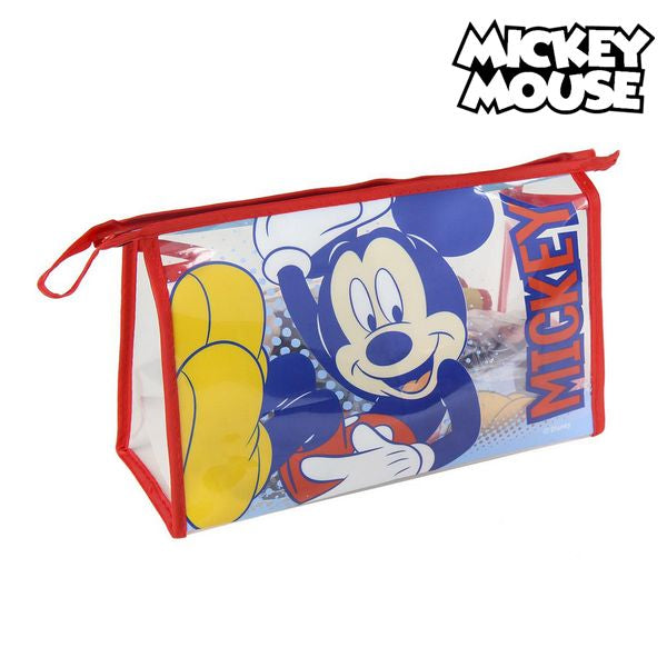 School Toilet Bag Mickey Mouse (6 pcs) Multicolour
