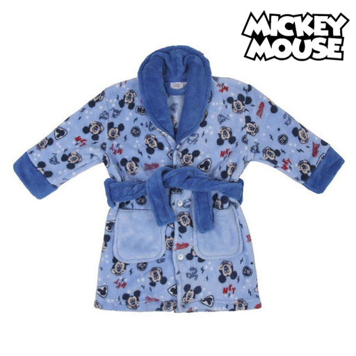 Children's Dressing Gown Mickey Mouse Blue