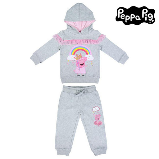 Children's Tracksuit Peppa Pig Grey