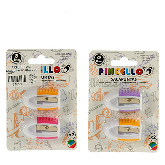 Pack taille-crayon (2 pièces)
