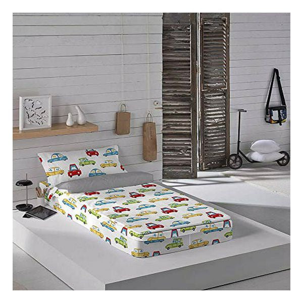 Quilted Rits Beddengoed Cool Kids Scalextrix (Bed 90)