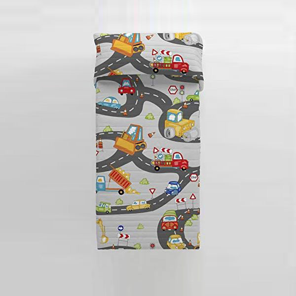 Omkeerbare sprei Scalextric Cool Kids (Bed 90)