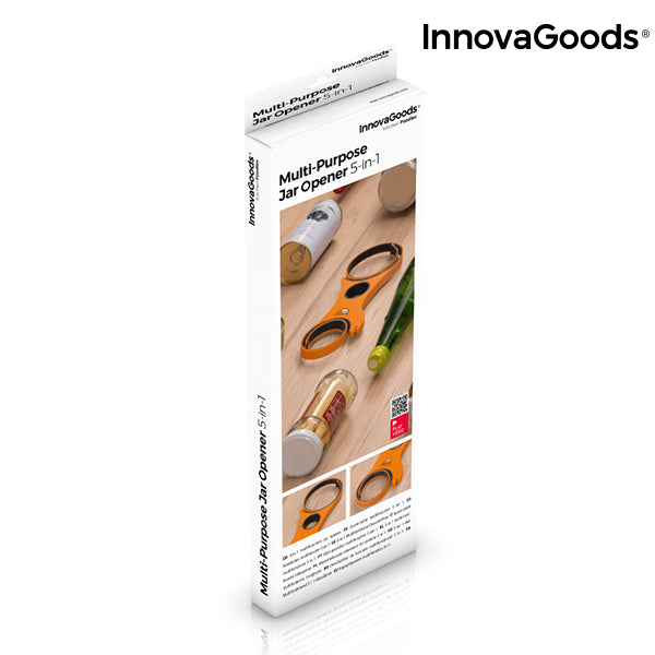 InnovaGoods 5-in-1 Multi-Purpose Jar Opener