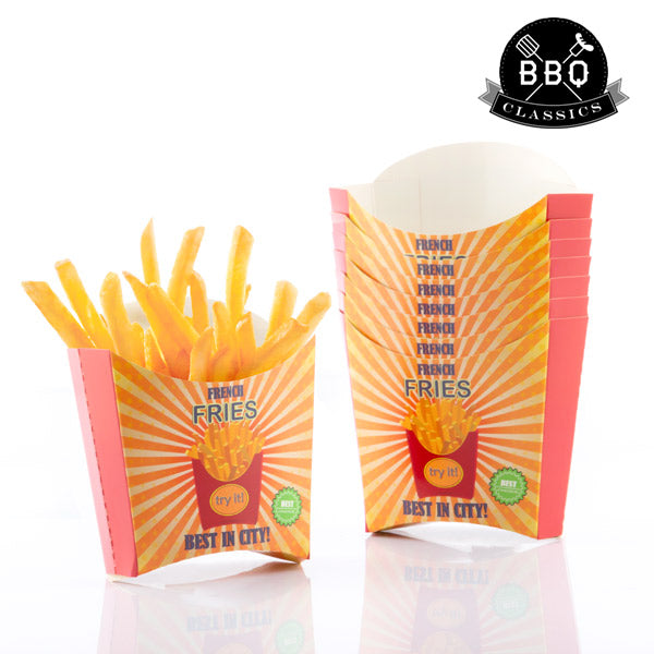 BBQ Classics Set French Fry Boxes (Pack of 8)