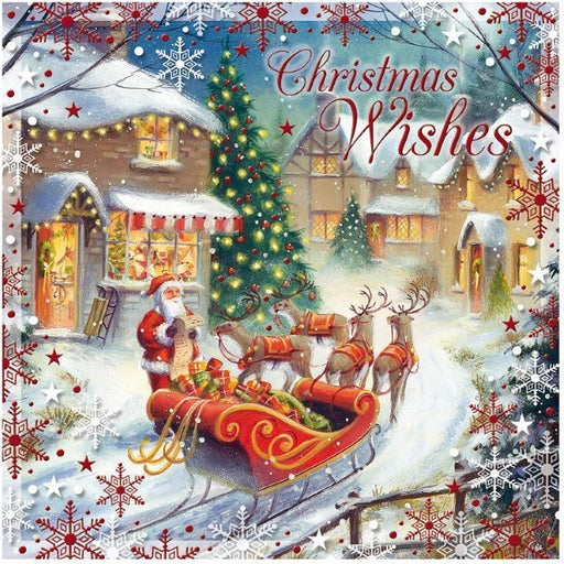 Congratulations Card Susy Christmas (Refurbished A+)