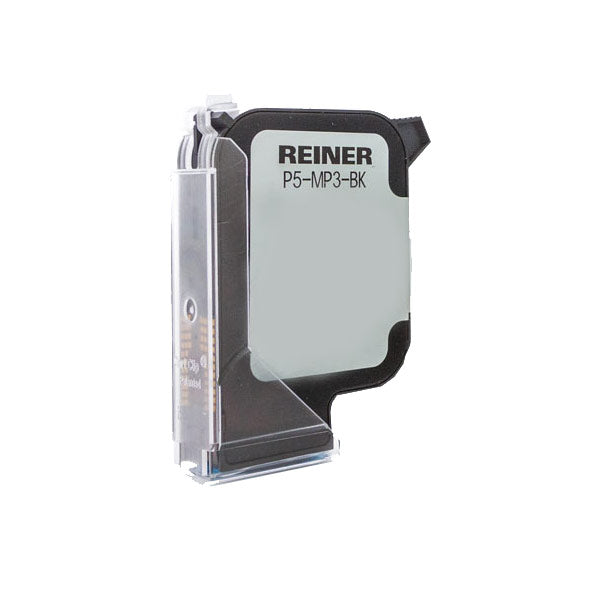 Reiner P5-MP3 Black Solvent Based Quick Drying Ink Cartridge For Non-Absorbent/Non-Porous Surfaces- Model 1025