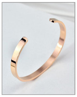 Rose Gold Lynix - Bracelet - truthBlack