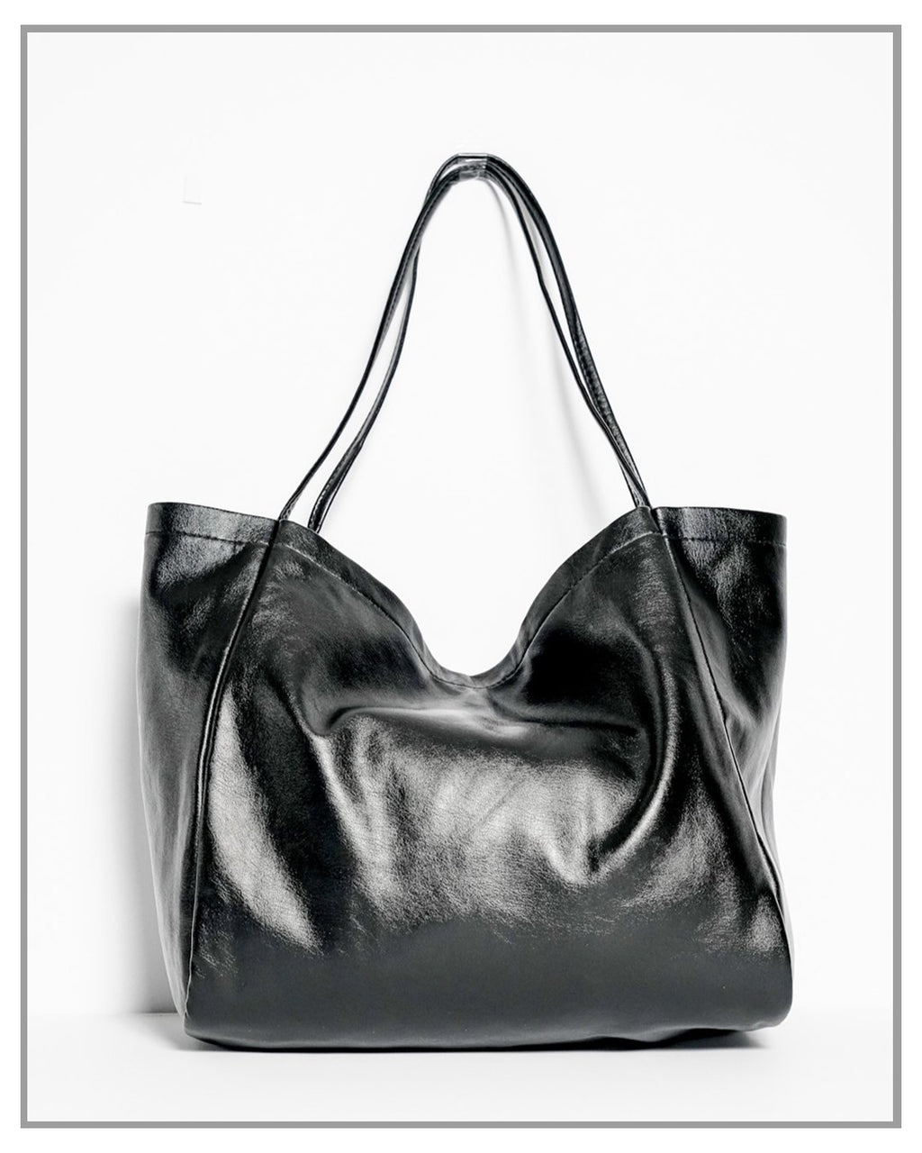 Signature Black Tote Bag - truthBlack