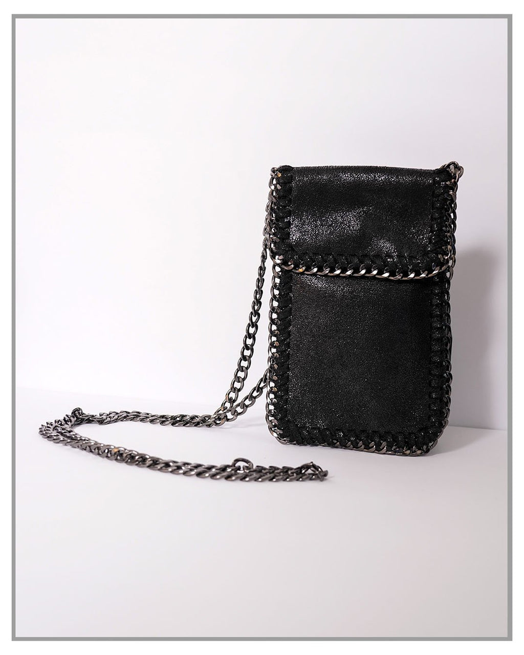 Phone Holder With Chain - truthBlack