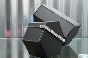 Slider Tennis Bracelet - truthBlack