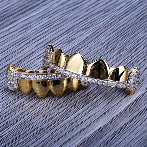Image of Premium Iced Out Fang Grillz Set