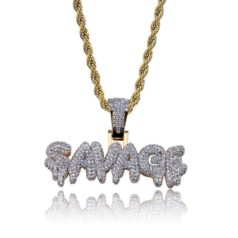 Iced Out Savage Hanger