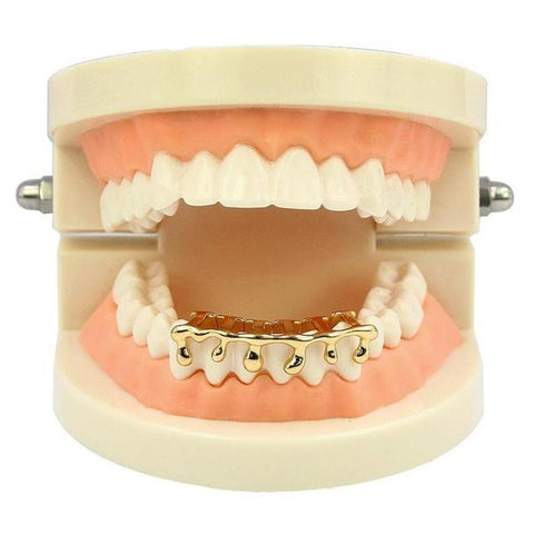 Image of Drippy Goldplated Grill