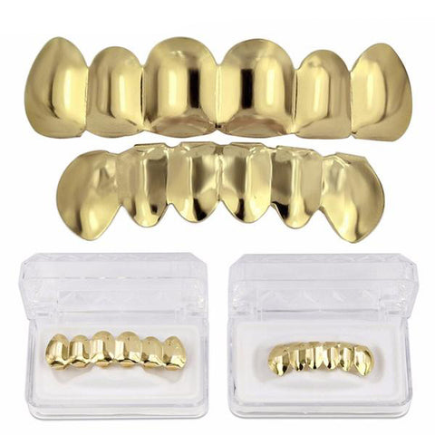 Goldplated Grillz Set