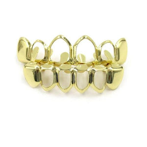 Open Goldplated Grillz