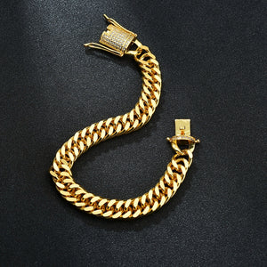 10mm Cubanello Herenarmband - ICED OUT