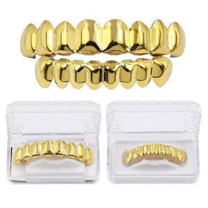 8/8 Goldplated Grillz Set